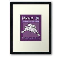 Banshee Service and Repair Manual Framed Print