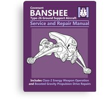 Banshee Service and Repair Manual Canvas Print