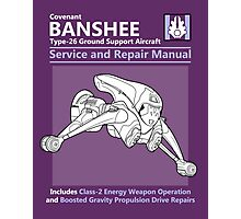 Banshee Service and Repair Manual Photographic Print