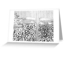 Buttons and Marbles Greeting Card