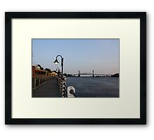 Wilmington Dusk Framed Print