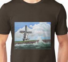 WindMill at stormy weather ..............kj's way Unisex T-Shirt