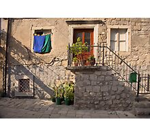 The backside of Dubrovnik  Photographic Print