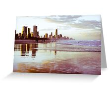 The Gold Coast Australia Greeting Card