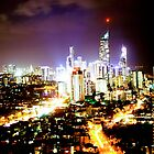Gold Coast at Night by Jason Dymock