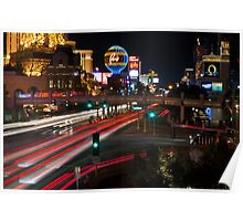 The Las Vegas Strip Poster