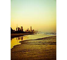 The Golden Coast Photographic Print