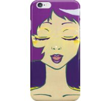 Sing Along In Gold iPhone Case/Skin