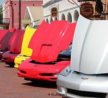 Corvette Rainbow in Jefferson, Texas by Betty Northcutt