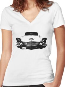 Caddy Women's Fitted V-Neck T-Shirt