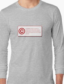 MY PERSON (COPYRIGHT Series) Long Sleeve T-Shirt