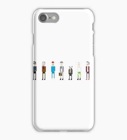 All Bill Murray's Wes Anderson Roles iPhone Case/Skin