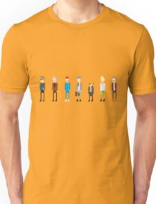 All Bill Murray's Wes Anderson Roles Unisex T-Shirt