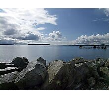 Quiet Day on Saanichton Bay Photographic Print