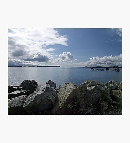 Quiet Day on Saanichton Bay Photographic Print
