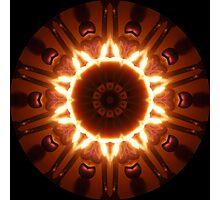 Candle Kaleidoscope Photographic Print