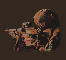 Machine Gunner by alienmisprint