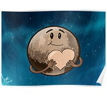 Pluto offers his heart Poster