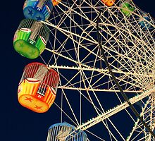 Twilight Ferris Wheel by Sarah  Mac