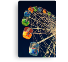 Twilight Ferris Wheel Canvas Print
