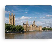 Houses of Parliament, London Canvas Print