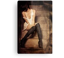 Body Language Metal Print