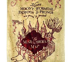 marauders map by ZeroSeven