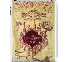 marauders map iPad Case/Skin