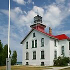 Grand Traverse Lighthouse by Mary Ann  Melton