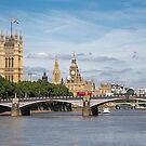 Houses of Parliament, London by David Henderson