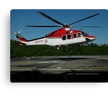 Emergency Helicopter, NSW Canvas Print