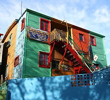 La Boca artists' colony by Maggie Hegarty