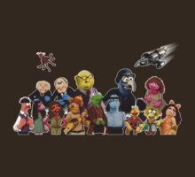 Firefrog (Firefly / The Muppets) - Group Shot #2 (No text)