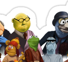 Firefrog (Firefly / The Muppets) - Group Shot #2 (No text) Sticker