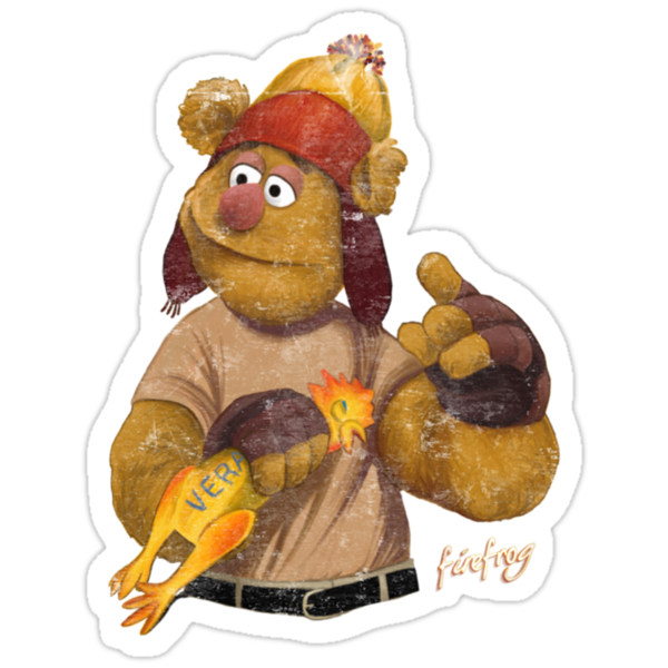 Firefrog (Firefly / The Muppets) - Jayne / Fozzie by James Hance