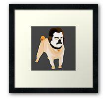 Barks and Rec. Framed Print