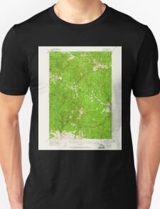 USGS Topo Map Oregon Bates 282239 1951 62500 T-Shirt