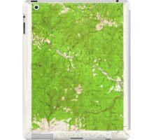 USGS Topo Map Oregon Bates 282239 1951 62500 iPad Case/Skin