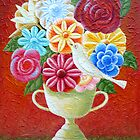 A Vase Of Flowers by Lana Wynne