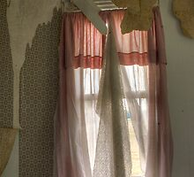 Pink Curtains by DariaGrippo