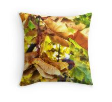 Fall Leaves 3 Throw Pillow