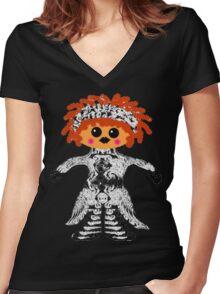 "My Little ""Voodoo Child"" Rag Doll Women's Fitted V-Neck T-Shirt"