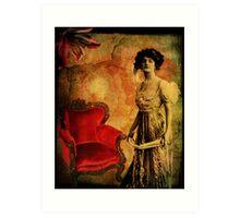 Aged Velvet Art Print