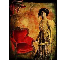 Aged Velvet Photographic Print
