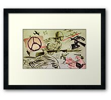 War, What Is It Good For? Framed Print