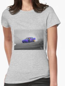 Drifting Toy Car Womens Fitted T-Shirt