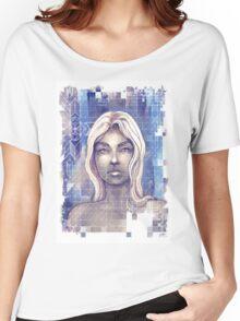 Fractal Women's Relaxed Fit T-Shirt