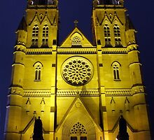 St Mary Night by Paul Todd