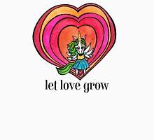 Let Love Grow: Cute Unicorn Drawing Watercolor Illustration Women's Tank Top