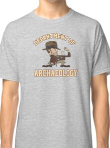 Dept. of Archaeology with Fighting Mascot Classic T-Shirt